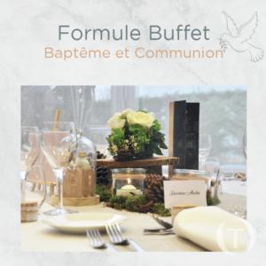 buffet - baptemes