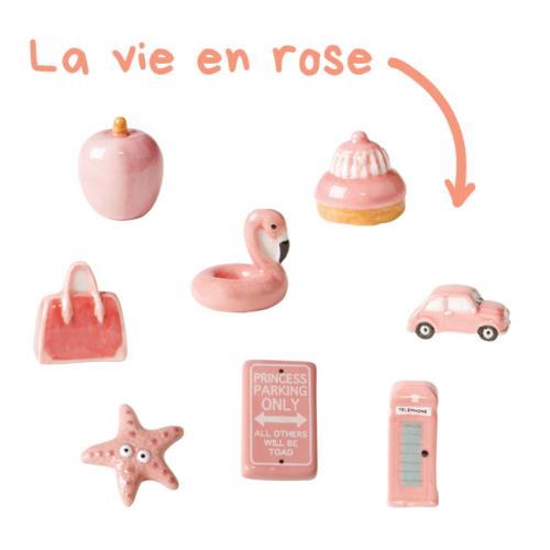 Fèves La vie en rose